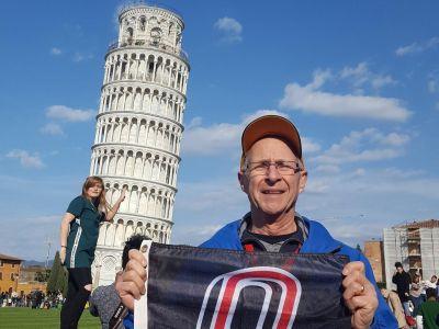 John Amend, Pisa,  Italy