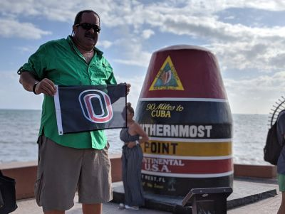Paul Hoffman, Southernmost Point, Key West, Florida, USA