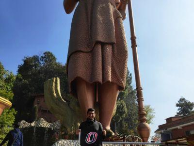 Rakshit Rekhi, Kailashnath Mahadev Statue, Suryabinayak, Nepal