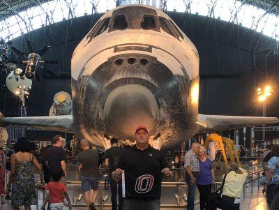 Mike Scott, Steven F. Udvar-Hazy Center, Air and Space Museum Parkway, Chantilly, VA, USA
