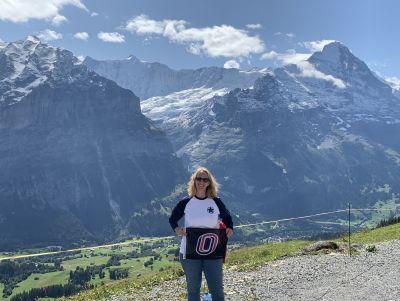 Lisa Medina, First, Grindelwald, Switzerland