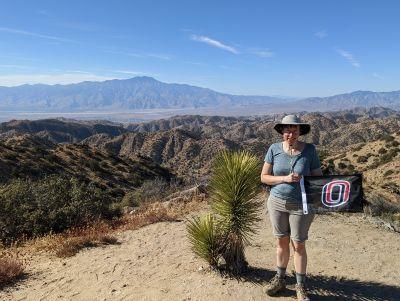 Mandy Minert, Eureka Peak, California, USA