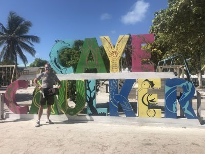 Richard McGregor, Caye Caulker, Belize