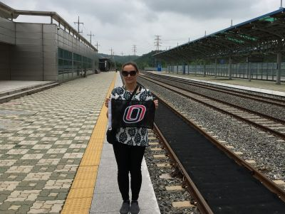 Sherry Wilson, Dorasan Station, Dongjang-ri, Jangdan-myeon, Paju-si, Gyeonggi-do, South Korea